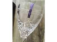 Edinburgh Crystal Glasses - Queens 80th Birthday Edition