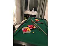 Pool table 6.5x3.5