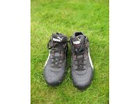 Rugby boots Puma duo flex soles size 10 used but excellent condition