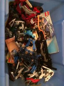 Collection of Bionicles