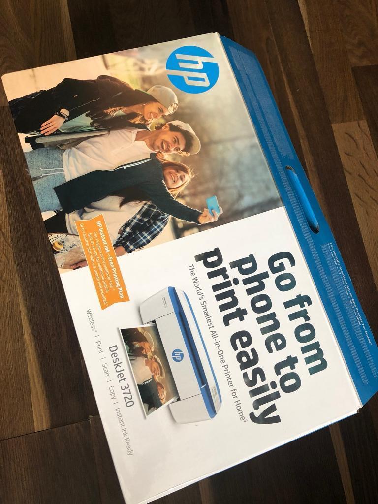 HP DeskJet 3720 Wireless Printer | in Dagenham, London | Gumtree