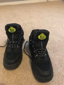 Trade Safe Steel Toe Capped Boots