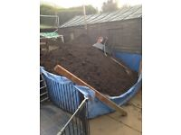 Free Soil/topsoil backfill