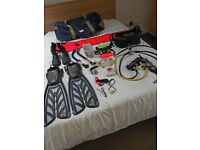 Scuba Diving Equipment- Full Set, Top Brands Good condition, Loads of extras