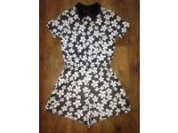 LADIES FLOWERY PLAYSUIT