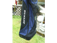 """DUNLOP"" GOLF FLIGHT BAG WITH WHEELS"