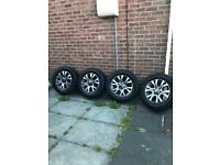 "Ford Ranger Wildtrak 18"" Alloys Genuine with NEW tyres"
