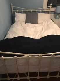 BRAND NEW VICTORIAN WHITE BED