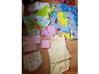 Huge Baby girls bedding bundle