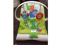 Baby fisher price bouncer in good condition and smoke free home 🏡