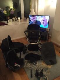 Quinny pram/pushchair travel system