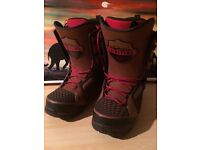 Snowboard Boots (barely used) - Thirtytwo TM-Two 2016 - Size 11 (UK)