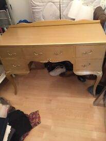 Original 50'/60s Dressing Table Hand Painted