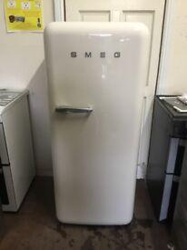 Smeg fridge freezer with ice box cream FAB28 3 months warranty free local delivery!!!!!!!