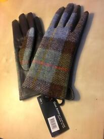 Harris Tweet Lady Gloves Large New