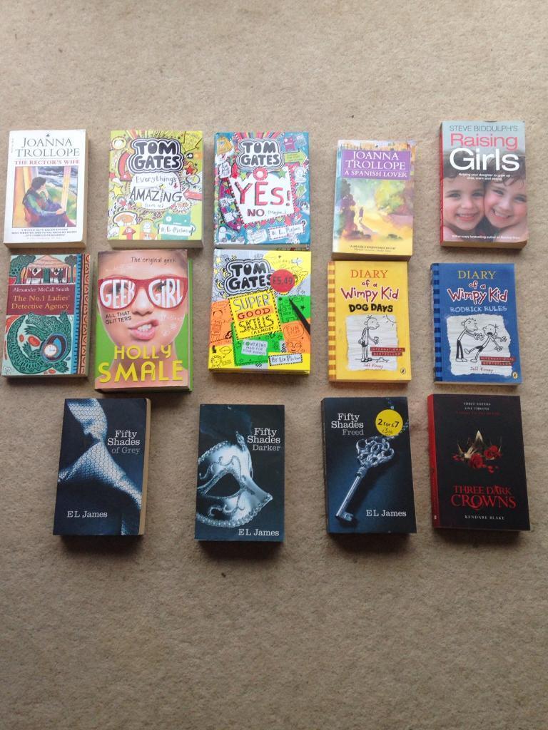 14 book bundle