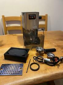 Gaggia Classic Coffee Machine bundle, pre-2015 model.