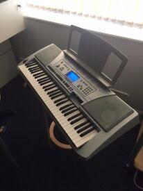 Yamaha PSR-450 Portable 62-key Piano Keyboard - Fully Functioning
