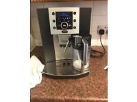 Bean to cup coffee machine Delonghi Perfecta cappuccino