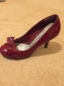 Maroon Patent Shoes