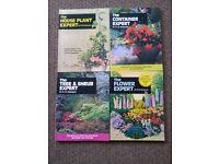 Gardening books. £1- £2 each.