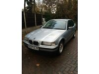 BMW 316 compact , silver . Spares/ repairs due to no mot ect , good condition /runner for year ect