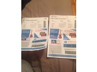 2 Impractical Jokers Dublin 3 Arena tour Santiago sent us tour Block K Seats 106/107