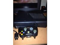 Xbox 360 console//controller and games