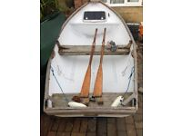 Small Fishing Boat Dinghy + 4HP Outboard