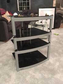 Equinox Hi-Fi Stand 4 shelf