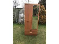 Alstons wardrobe with two bottom drawers ( can deliver )