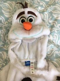 Olaf dressing up costume