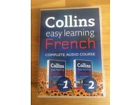 Collins learn French audio CDs