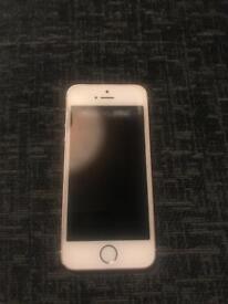 iPhone 5se 64G on EE rose gold £110