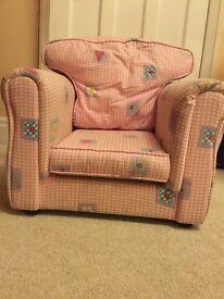Children's Arm Chair - Girls