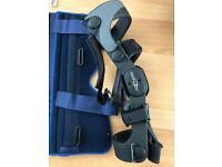Donjoy leg brace support