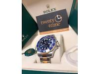 Rolex 116613lb unworn 2017