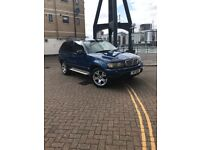 Bmw X5 2003 4.4 sport auto . £2500 with private plate .