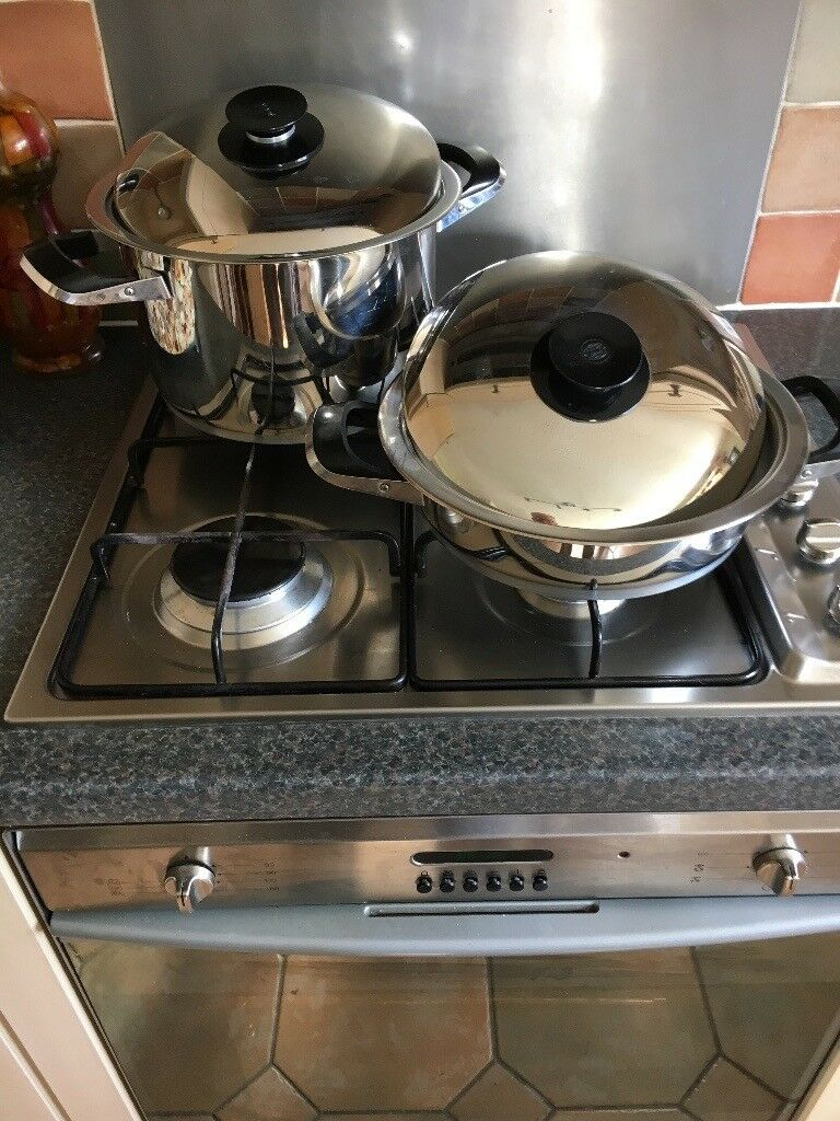 Good quality stainless steel pots for cooking