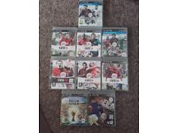 Ps3 games bundle fifa 08,09,10,11,12,13,14, fifa street, & 2010world cup.. £15ovno the lot
