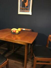 Beautiful Mid-century Table and 4 Chairs £250 ONO