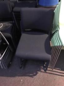 Grey Stackable Canter Leaver Chairs