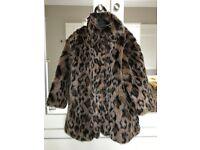 NEXT fur coat age 5