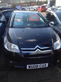 Citroen C4 1.6i 16v auto SX Black 08 Plate 5 Door Automatic only 43009