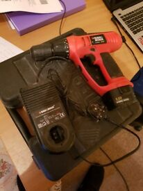 Black & Decker Drill With Case