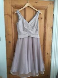 Monsoon Pink Dress - size 10