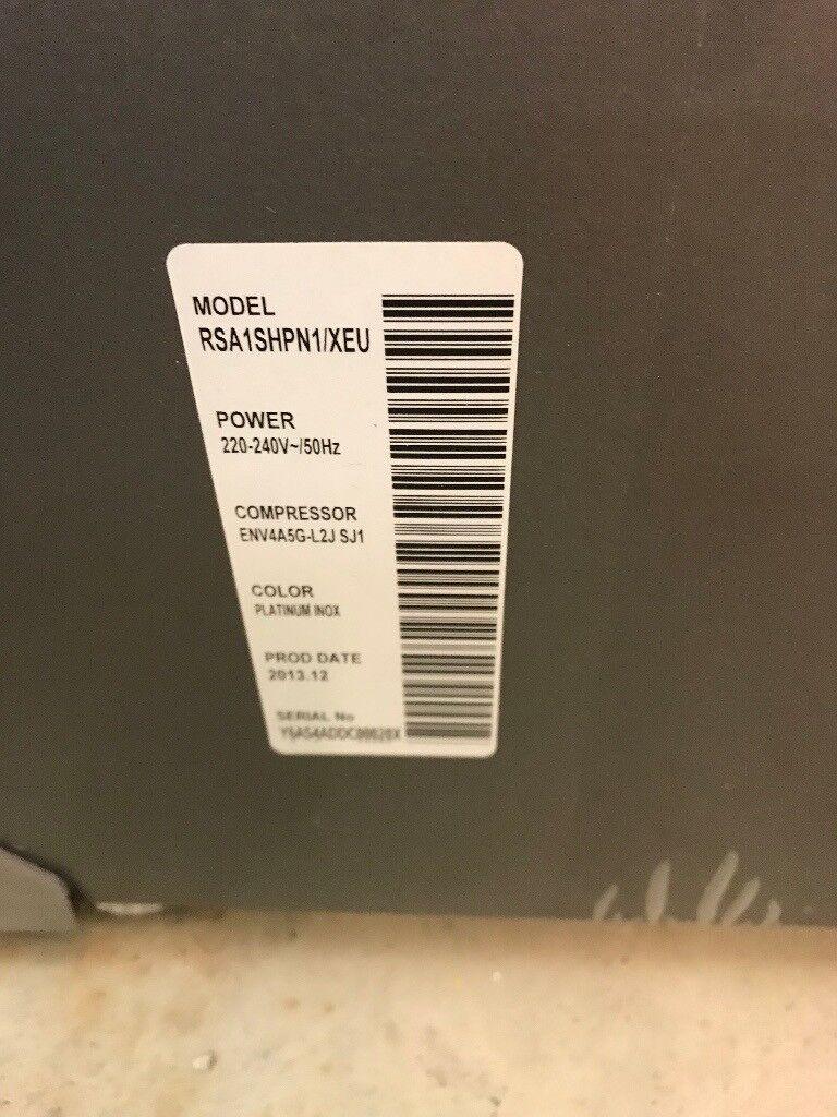 Samsung A-Series RSA1SHPN1 American-Style Fridge
