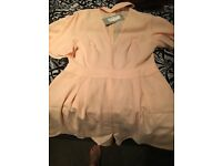 Lucy wang play suit size Large