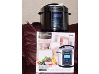 New jack stonehouse electric pressure cooker big 5 litre family size new in the box
