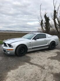 FORD MUSTANG GT500 SUPERSNAKE REPLICA!!